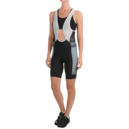 Pearl Izumi ELITE Pursuit Cycling Bib Shorts (For Women) in Smoked Pearl Rush - Closeouts