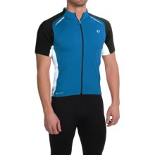 Pearl Izumi ELITE Pursuit Cycling Jersey - UPF 50+, Short Sleeve (For Men) in Mykonos Blue/White - Closeouts