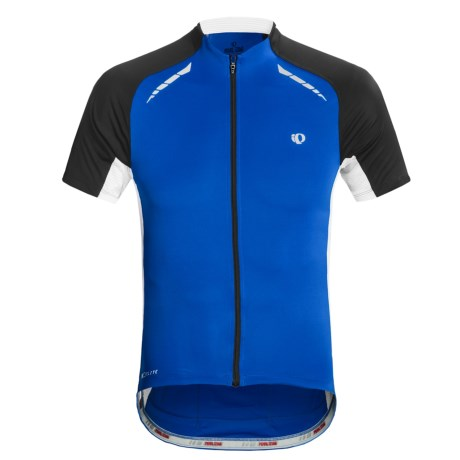 Pearl Izumi Elite Pursuit Cycling Jersey - UPF 50+, Short Sleeve (For Men) in White/Black