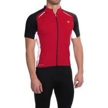 Pearl Izumi ELITE Pursuit Cycling Jersey - UPF 50+, Short Sleeve (For Men) in True Red/White - Closeouts