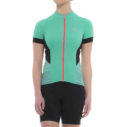 Pearl Izumi ELITE Pursuit Cycling Jersey - UPF 50+, Short Sleeve (For Women) in Atlantis Rush - Closeouts
