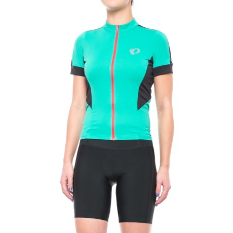 Pearl Izumi ELITE Pursuit Cycling Jersey - UPF 50+, Short Sleeve (For Women) in Atlantis