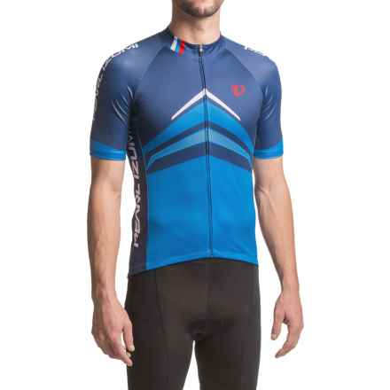 Pearl Izumi ELITE Pursuit LTD Cycling Jersey - Full Zip, Short Sleeve (For Men) in Delta Blue X 2 - Closeouts