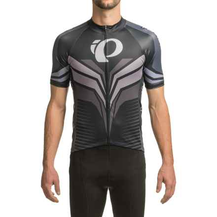 Pearl Izumi ELITE Pursuit LTD Cycling Jersey - Full Zip, Short Sleeve (For Men) in Elite Tm Stealth - Closeouts