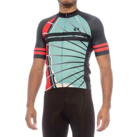 Pearl Izumi ELITE Pursuit LTD Cycling Jersey - Full Zip, Short Sleeve (For Men) in La Roue - Closeouts