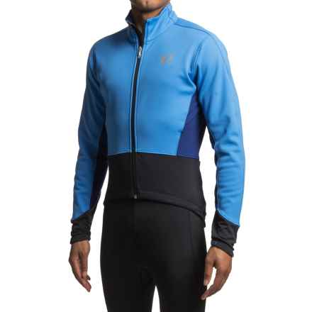 Pearl Izumi ELITE Pursuit Soft Shell Cycling Jacket (For Men) in Blue X 2 - Closeouts