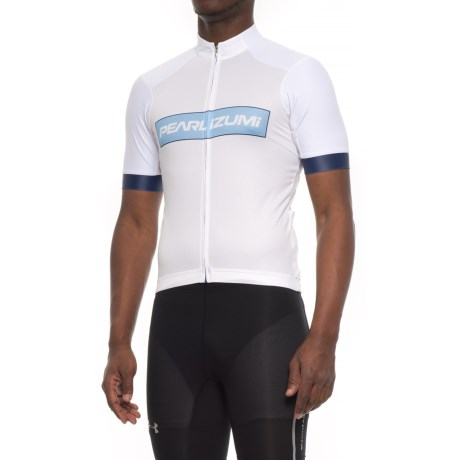 Pearl Izumi ELITE Pursuit Summer Cycling Jersey - Short Sleeve (For Men) in Blue X 2