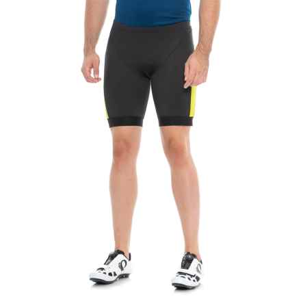 Pearl Izumi ELITE Pursuit Tri Shorts (For Men) in Black/Lime Punch - Closeouts