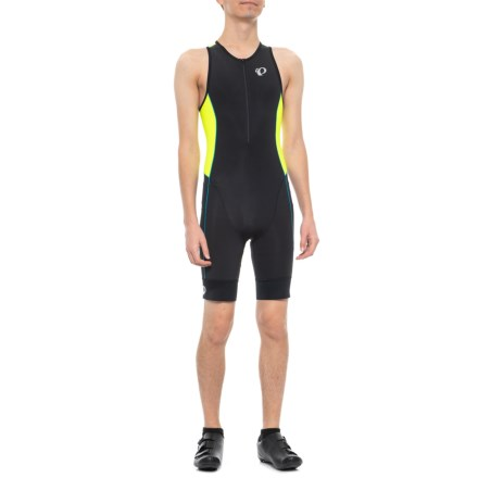 Pearl Izumi ELITE Pursuit Tri Suit (For Men) in Black Screaming Yellow - 8ad667fbc