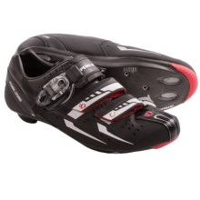 Pearl Izumi Elite RD III Cycling Shoes - 3-Hole (For Men) in Black/Silver - Closeouts