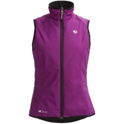 Pearl Izumi Elite Reverse Prima Vest - Full Zip, Reversible (For Women) in Safety Orange