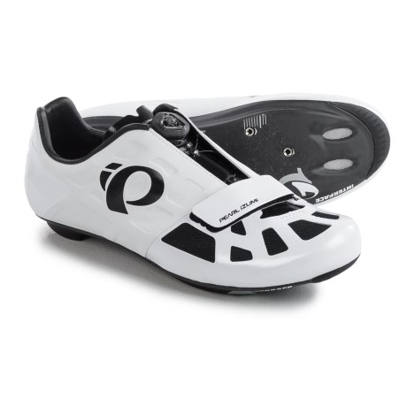 Pearl Izumi ELITE Road IV Cycling Shoes - 3-Hole (For Men) in White/Black