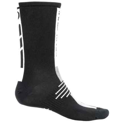 Pearl Izumi ELITE Run Socks - Crew (For Men) in Black - Closeouts