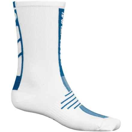 Pearl Izumi ELITE Run Socks - Crew (For Men) in Mykonos Blue - Closeouts