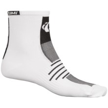 Pearl Izumi ELITE Socks - Quarter Crew (For Men) in White - Closeouts