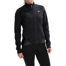 Pearl Izumi ELITE Soft Shell 180 Cycling Jacket (For Women) in Black - Closeouts