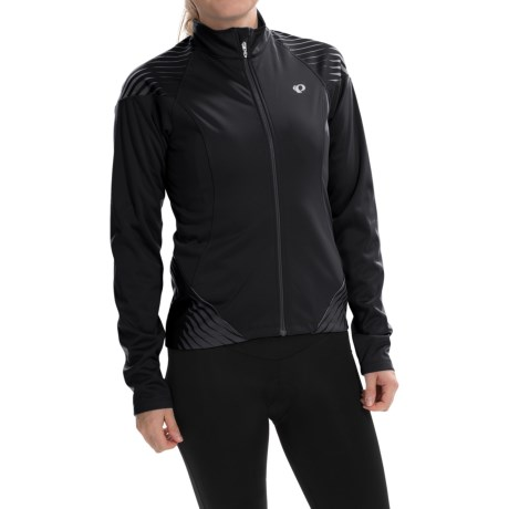 Pearl Izumi ELITE Soft Shell 180 Cycling Jacket (For Women) in Black