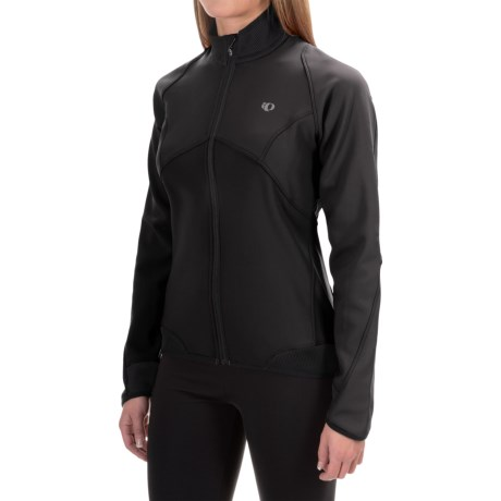 Pearl Izumi Elite Soft Shell 180 Jacket (For Women) in Black/Black
