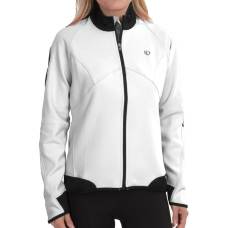 Pearl Izumi Elite Soft Shell 180 Jacket (For Women) in White