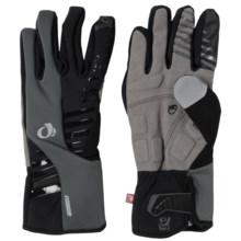 Pearl Izumi ELITE Soft Shell Bike Gloves - Insulated (For Men) in Black - Closeouts