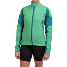 Pearl Izumi ELITE Soft Shell Cycling Jacket (For Women) in Gumdrop/Deep Lake - Closeouts