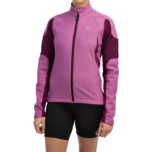 Pearl Izumi ELITE Soft Shell Cycling Jacket (For Women) in Meadow Mauve/Dark Purple - Closeouts