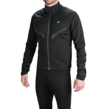 Pearl Izumi Elite Soft Shell Jacket (For Men) in Black/Black - Closeouts