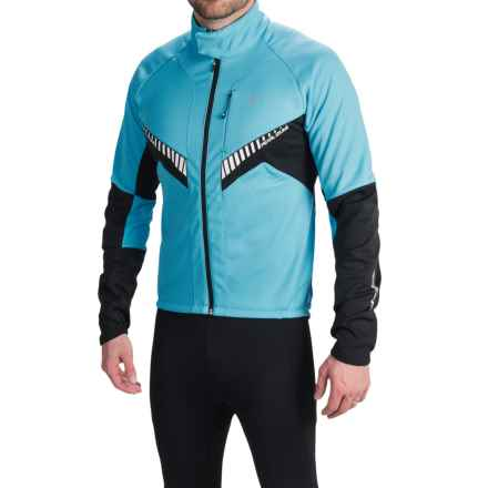 Pearl Izumi Elite Soft Shell Jacket (For Men) in Blue Atoll/Black - Closeouts