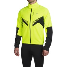 Pearl Izumi Elite Soft Shell Jacket (For Men) in Screaming Yellow/Black - Closeouts