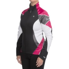 Pearl Izumi ELITE Soft Shell Jacket (For Women) in 2Ba Berry - Closeouts
