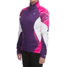 Pearl Izumi ELITE Soft Shell Jacket (For Women) in Blackberry - Closeouts