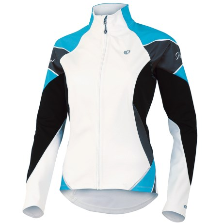 Pearl Izumi Elite Soft Shell Jacket (For Women) in White