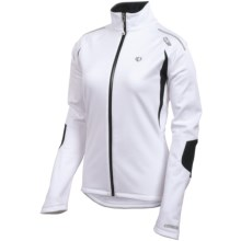 Pearl Izumi Elite Soft Shell WxB Jacket- Waterproof, Long Sleeve (For Women) in White - Closeouts