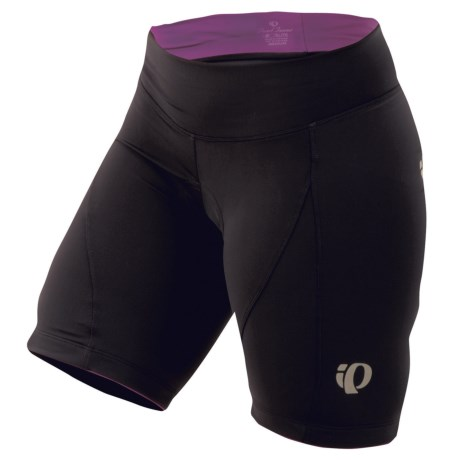 Pearl Izumi Elite Symphony Cycling Shorts (For Women) in Black/Orchid