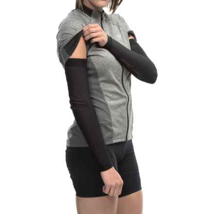 Pearl Izumi ELITE Thermal Arm Warmers (For Women) in Black - Closeouts