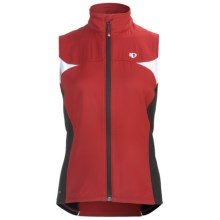 Pearl Izumi Elite Thermal Barrier Vest (For Women) in True Red/Black - Closeouts
