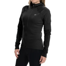Pearl Izumi ELITE Thermal Cycling Hoodie - Full Zip (For Women) in Black - Closeouts