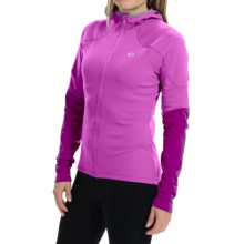 Pearl Izumi ELITE Thermal Cycling Hoodie - Full Zip (For Women) in Meadow Mauve/Dark Purple - Closeouts
