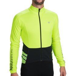 Pearl Izumi ELITE Thermal Cycling Jersey - Full Zip, Long Sleeve (For Men) in Screaming Yellow