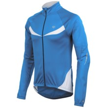 Pearl Izumi ELITE Thermal Cycling Jersey - Full Zip, Long Sleeve (For Men) in True Blue/White - Closeouts