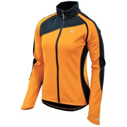 Pearl Izumi Elite Thermal Jacket - Convertible (For Women) in Safety Orange