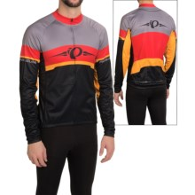 Pearl Izumi ELITE Thermal LTD Cycling Jersey - Long Sleeve (For Men) in Badge/True Red - Closeouts