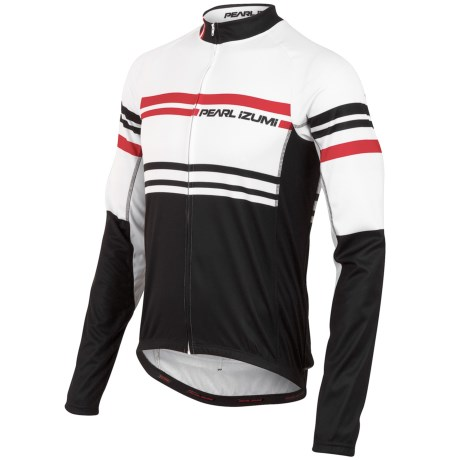 Pearl Izumi ELITE Thermal LTD Cycling Jersey - Long Sleeve (For Men) in Classique