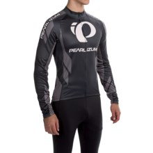 Pearl Izumi ELITE Thermal LTD Cycling Jersey - Long Sleeve (For Men) in Elite Pi: Shadow Grey - Closeouts