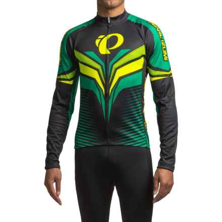 Pearl Izumi ELITE Thermal LTD Cycling Jersey - Long Sleeve (For Men) in Elite Tm Pepper Green - Closeouts