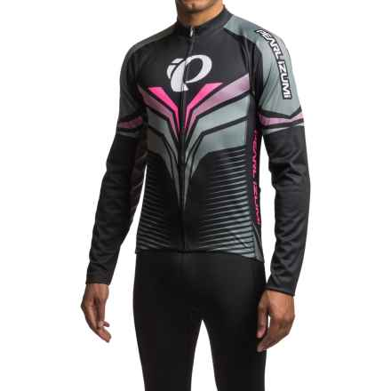 Pearl Izumi ELITE Thermal LTD Cycling Jersey - Long Sleeve (For Men) in Elite Tm Stealth - Closeouts