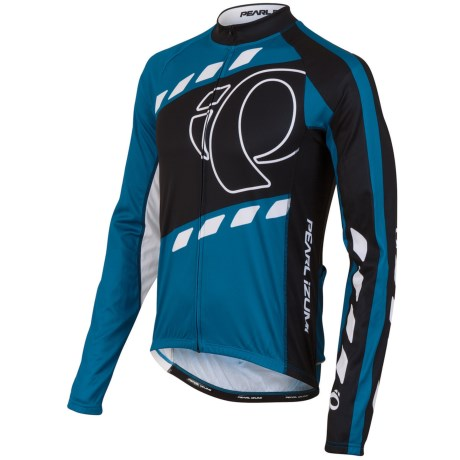 Pearl Izumi ELITE Thermal LTD Cycling Jersey - Long Sleeve (For Men) in Hiway: Myk