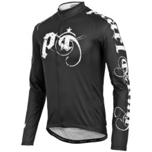 Pearl Izumi ELITE Thermal LTD Cycling Jersey - Long Sleeve (For Men) in Metal Black - Closeouts