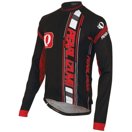 Pearl Izumi ELITE Thermal LTD Cycling Jersey - Long Sleeve (For Men) in New Big Ip Black