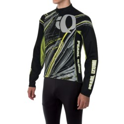 Pearl Izumi ELITE Thermal LTD Cycling Jersey - Long Sleeve (For Men) in Slash Screaming Yellow